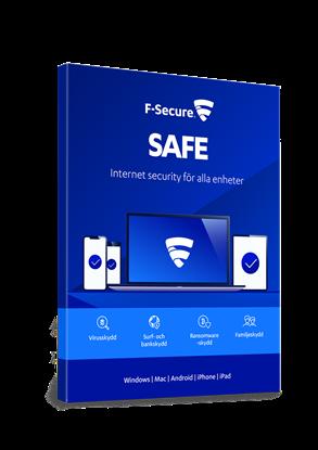 Bild på F-Secure Safe 3 användare månadskostnad